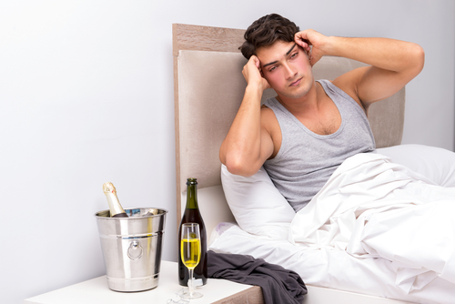 Головокружение после употребления алкоголя