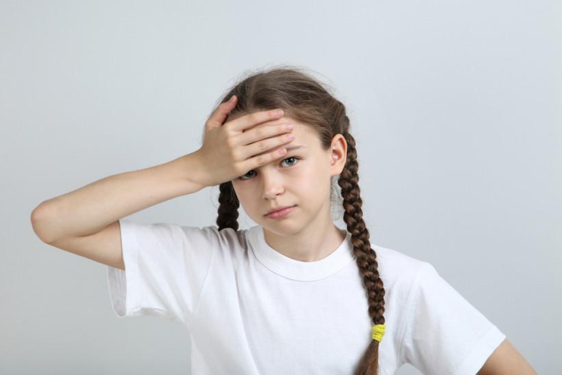 Головокружение потемнение в глазах у ребенка