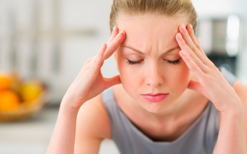 Мигрень аура без приступов головной боли